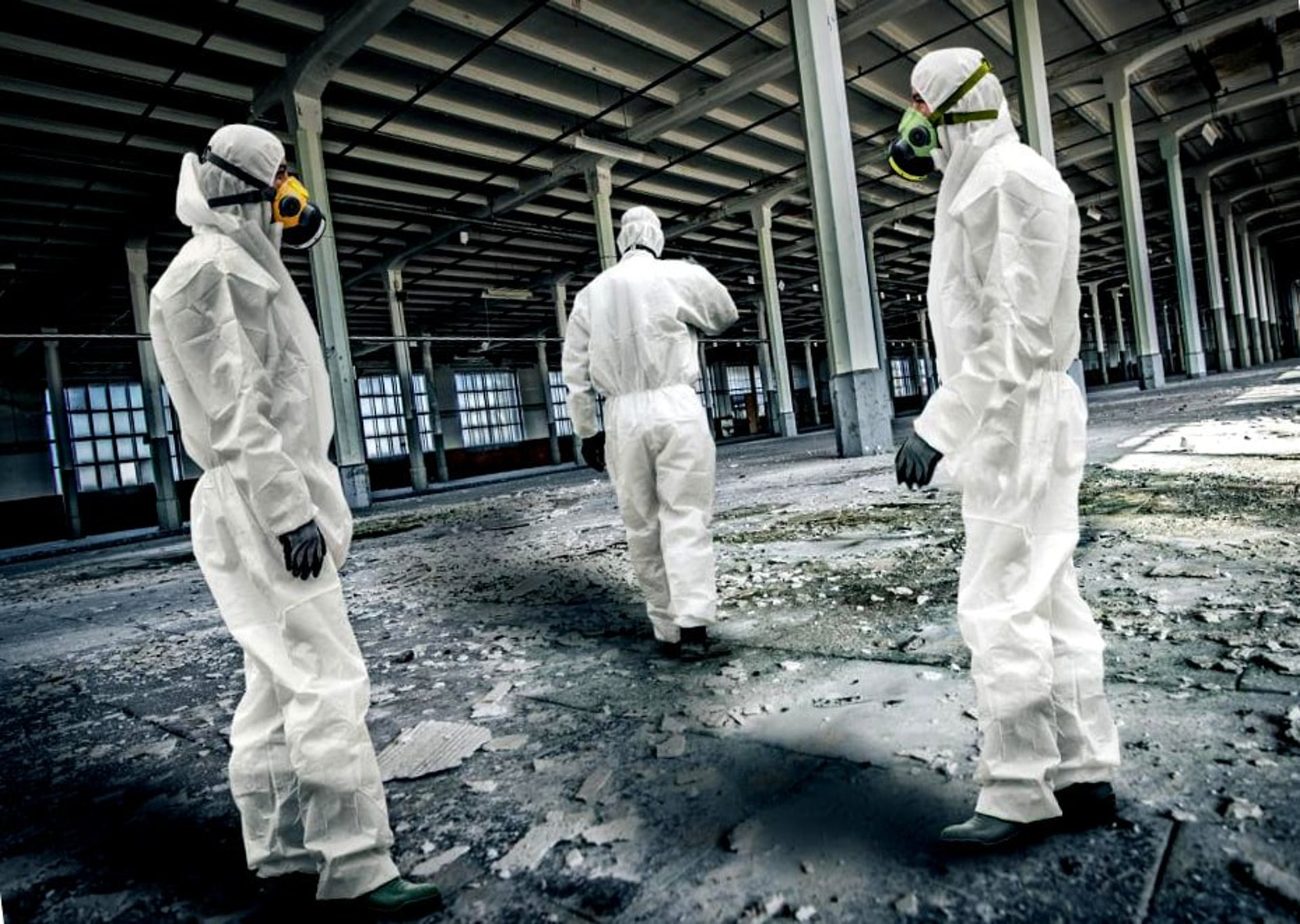 Disposable PPE Asbestos