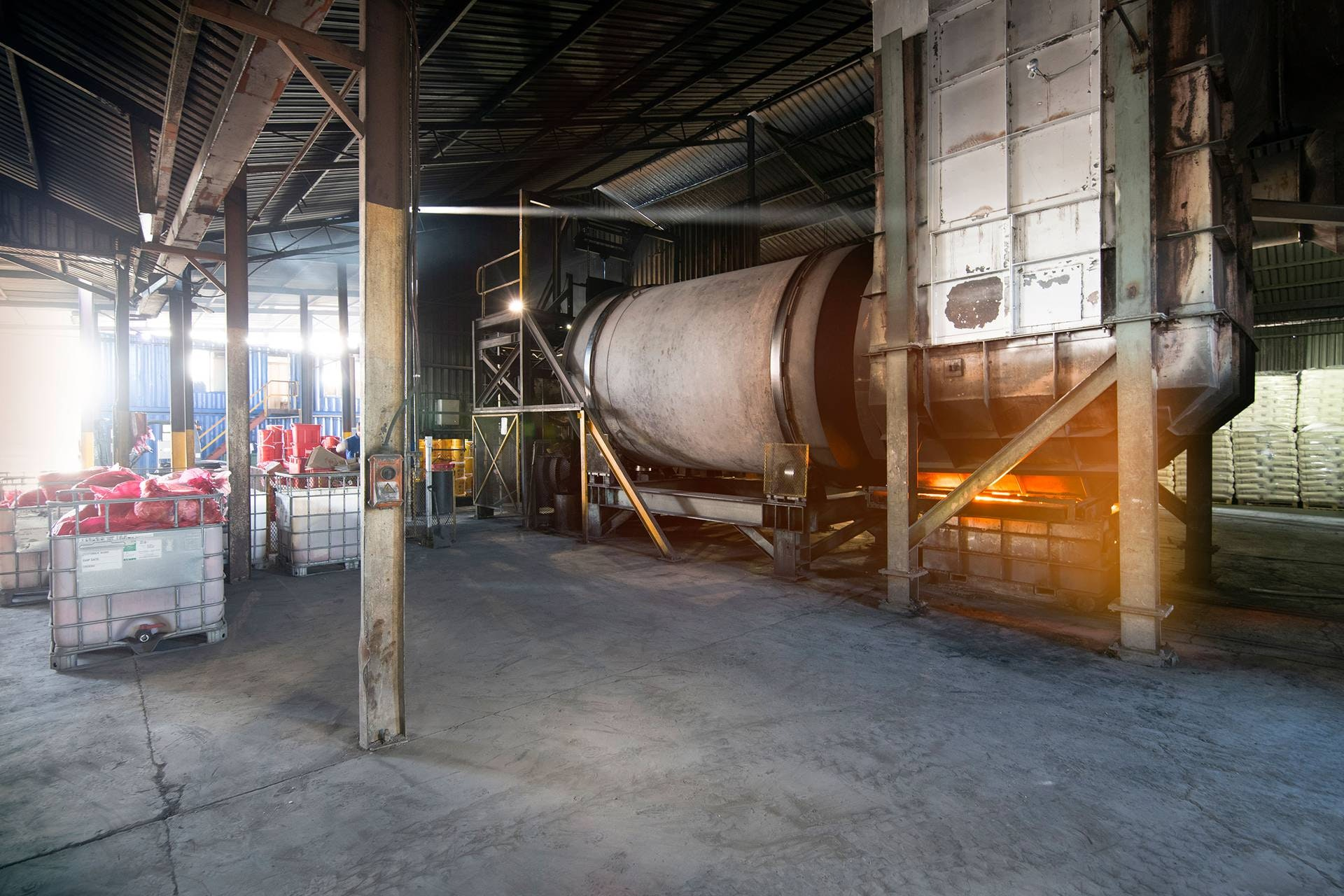 Incinerator hazardous waste south africa