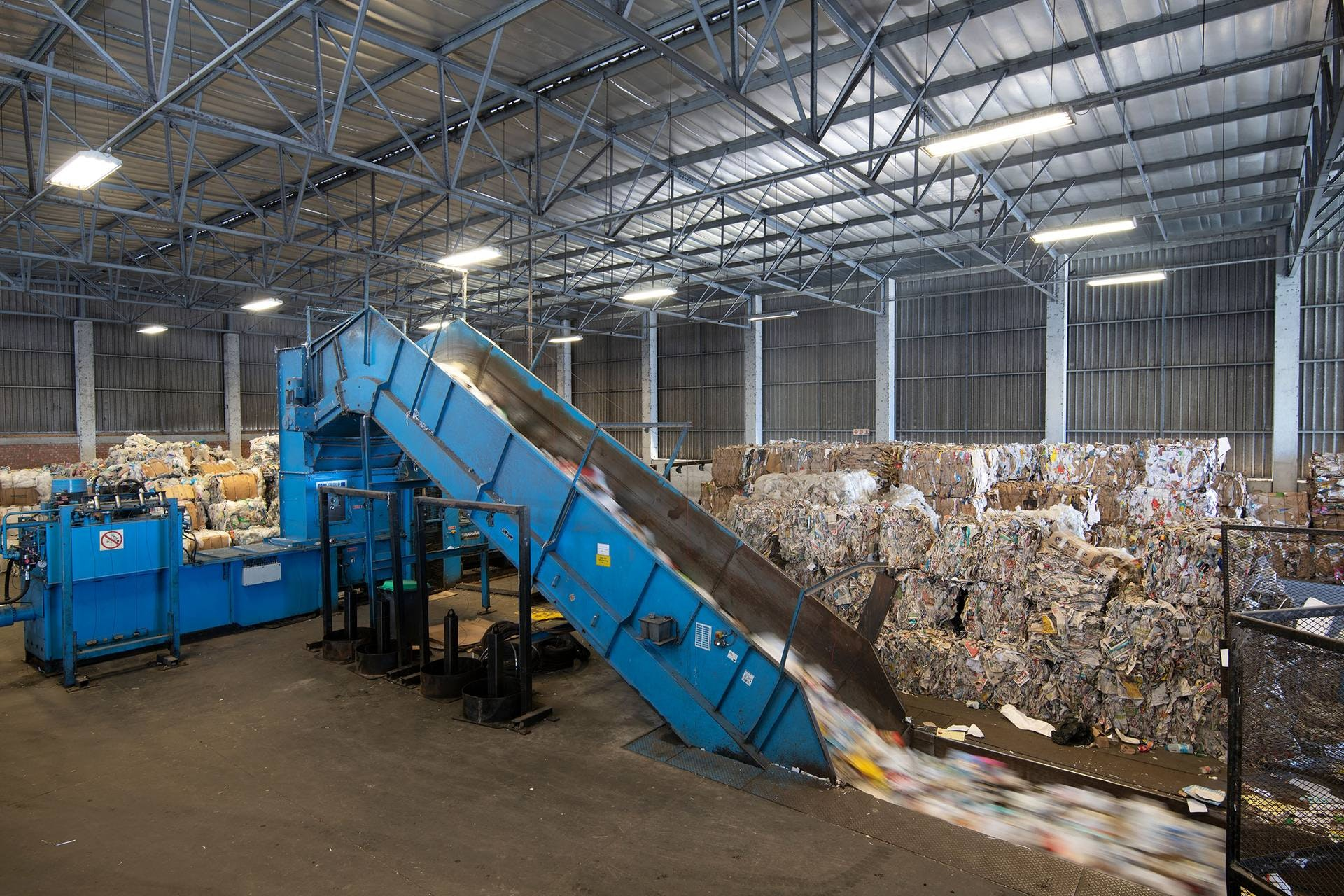 Recycling materials recovery facility south africa