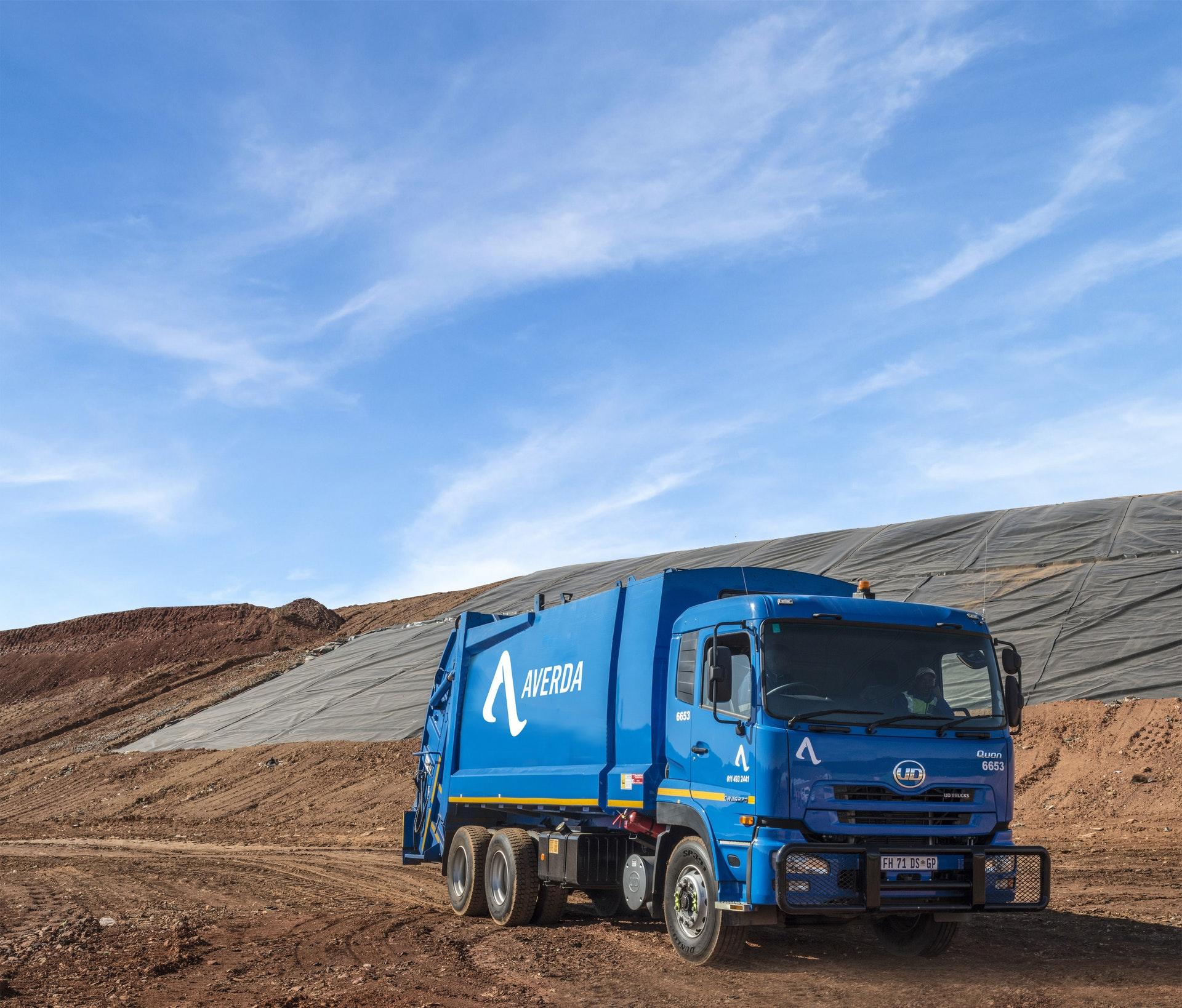 Vlakfontein SA Truck in Landfill