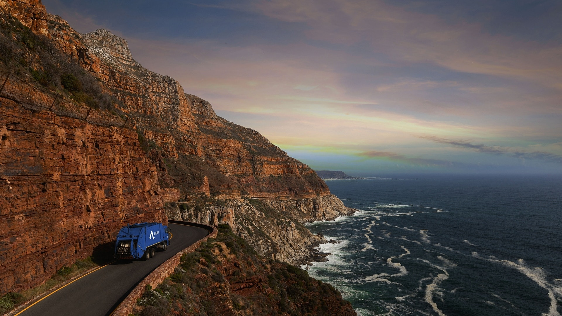 Averda truck trip